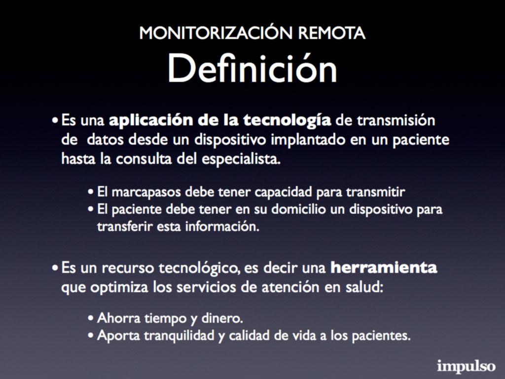 Figura 1: Monitorización remota: definición