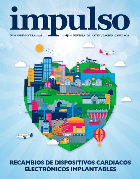 portada número 6 Monográfico sobre recambios de dispositivos cardiacos electrónicos implantables